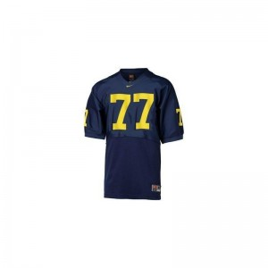 Jake Long Michigan Player Youth Limited Jerseys - Blue