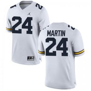 Jake Martin University of Michigan Player Men Limited Jersey - Jordan White
