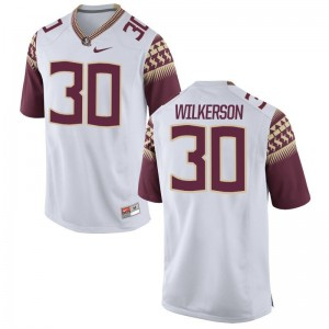 Jalen Wilkerson Florida State Player Mens Limited Jersey - White