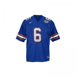 Jeff Driskel University of Florida College Mens Game Jersey - Blue