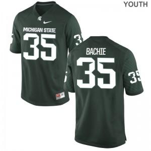 Joe Bachie Spartans Alumni Youth Game Jerseys - Green