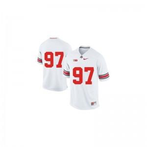 Joey Bosa Ohio State University Mens Game Jersey - White