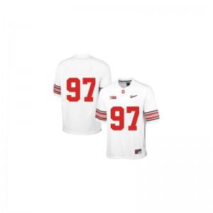 Joey Bosa Ohio State Buckeyes Football Men Limited Jerseys - White Diamond Quest Patch