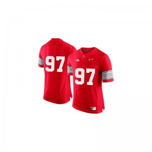 Joey Bosa Ohio State University Youth Limited Jerseys - Red Diamond Quest Patch