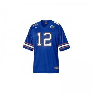 John Brantley Florida Gators NCAA Youth(Kids) Game Jersey - Blue
