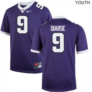 John Diarse TCU Horned Frogs Alumni Youth Game Jerseys - Purple
