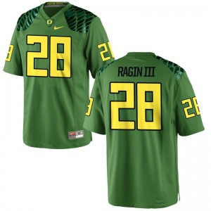 Johnny Ragin III Ducks Player Men Game Jersey - Apple Green