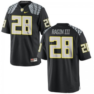 Johnny Ragin III Oregon Ducks Player For Men Game Jerseys - Black