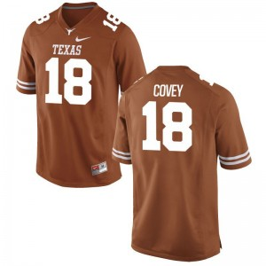 Josh Covey UT Player Men Game Jerseys - Orange