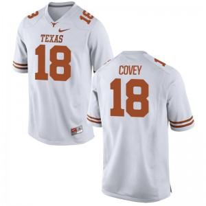 Josh Covey UT High School For Men Game Jerseys - White