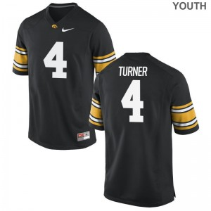 Josh Turner Iowa Official Youth Game Jerseys - Black