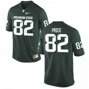Josiah Price Michigan State Player Men Game Jersey - Green