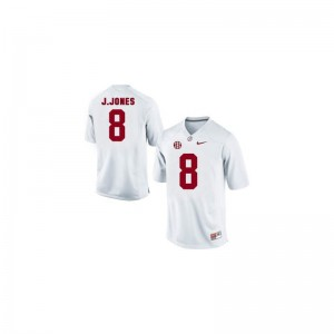 Julio Jones Bama University Youth(Kids) Limited Jerseys - White
