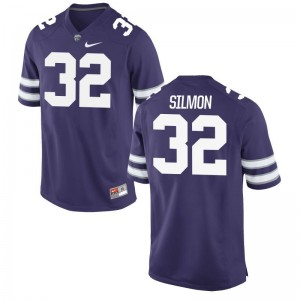 Justin Silmon K-State NCAA Mens Limited Jersey - Purple