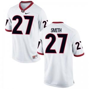 KJ Smith University of Georgia High School Men Game Jersey - White