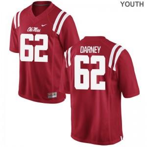 Kamden Darney Ole Miss High School Youth Game Jerseys - Red