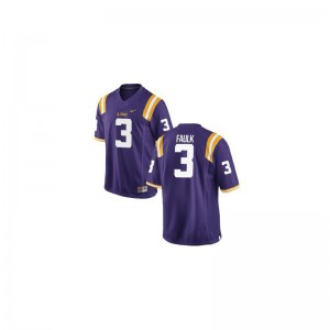 Kevin Faulk Louisiana State Tigers University For Kids Game Jersey - Purple