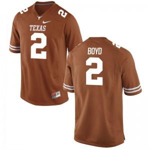 Kris Boyd UT NCAA For Men Limited Jerseys - Orange