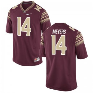 Kyle Meyers Florida State Seminoles University For Men Game Jersey - Garnet
