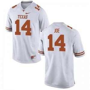 Lorenzo Joe University of Texas University For Men Game Jerseys - White