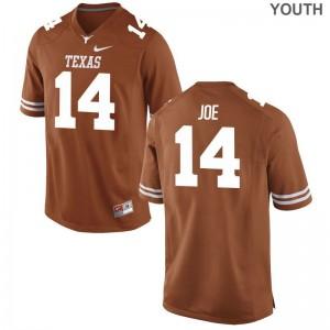 Lorenzo Joe University of Texas NCAA For Kids Game Jersey - Orange
