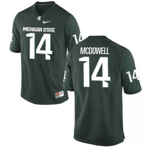 Malik McDowell Spartans Player For Men Game Jerseys - Green