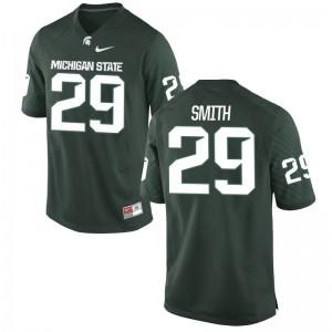 Malik Smith MSU College Youth Game Jersey - Green