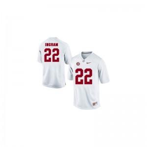 Mark Ingram Bama University Men Game Jersey - White