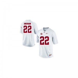 Mark Ingram Alabama Crimson Tide Alumni For Kids Game Jersey - White