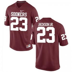 Mark Jackson Jr. OU Sooners NCAA Mens Game Jersey - Crimson