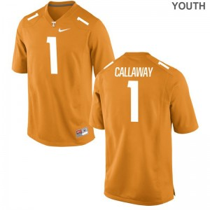 Marquez Callaway Tennessee Vols Alumni Youth(Kids) Limited Jerseys - Orange