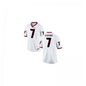 Matthew Stafford Georgia Bulldogs University For Men Game Jerseys - White