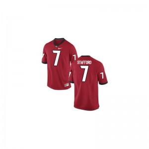 Matthew Stafford Georgia Bulldogs High School Mens Limited Jerseys - Red