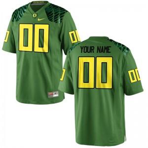 Ducks University For Men Limited Custom Jerseys - Apple Green Alternate