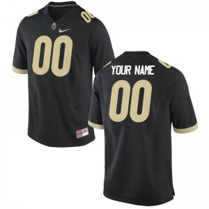 Purdue University High School For Men Limited Customized Jersey - Black
