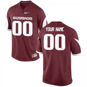 Arkansas Official For Men Limited Customized Jerseys - Cardinal