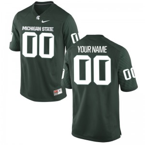 Spartans NCAA Men Limited Customized Jersey - Green