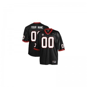 University of Georgia NCAA For Men Limited Customized Jersey - Black