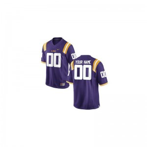Louisiana State Tigers Alumni Men Limited Customized Jerseys - Purple