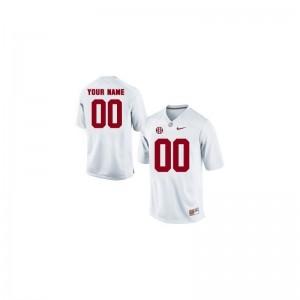 University of Alabama Alumni For Men Limited Customized Jersey - White