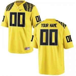 Oregon Player For Men Limited Customized Jerseys - Gold
