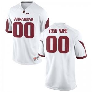 Arkansas Alumni For Men Limited Custom Jersey - White