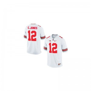 Cardale Jones Ohio State Buckeyes Player For Men Limited Jersey - #12 White