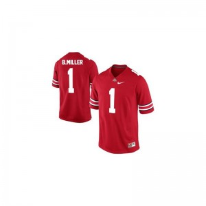 Braxton Miller Ohio State NCAA Mens Limited Jersey - #1 Red