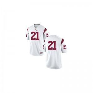 Su'a Cravens USC University Men Game Jersey - #21 White