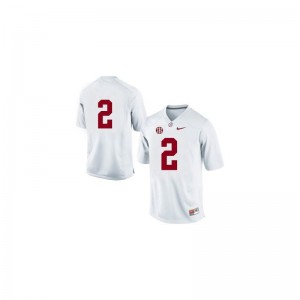 Derrick Henry University of Alabama NCAA Men Game Jersey - #2 White