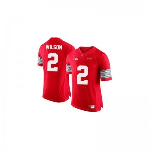 Dontre Wilson OSU Buckeyes Player For Men Limited Jersey - #2 Red Diamond Quest Patch