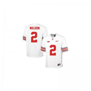 Dontre Wilson OSU Buckeyes Football For Men Limited Jersey - #2 White Diamond Quest Patch