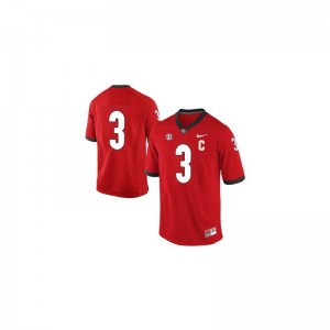 Todd Gurley University of Georgia Player Mens Game Jerseys - #3 Red