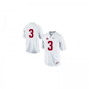 Trent Richardson Alabama Crimson Tide Football For Men Game Jerseys - #3 White